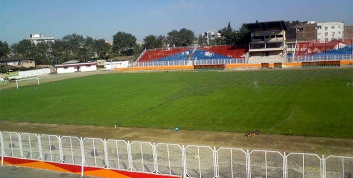 آخرین وضعیت ورزشگاه وطنی در آستانه دیدار نساجی و پرسپولیس