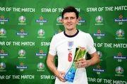 مدافع انگلیس بهترین بازیکن دیدار با آلمان شد