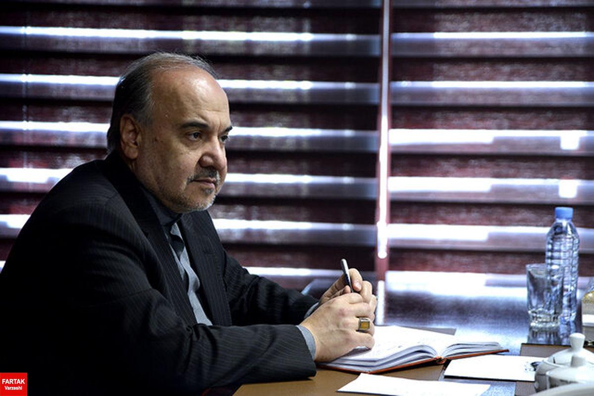 دستور مسعود سلطانی فر برای پیگیری وضعیت مهرداد میناوند