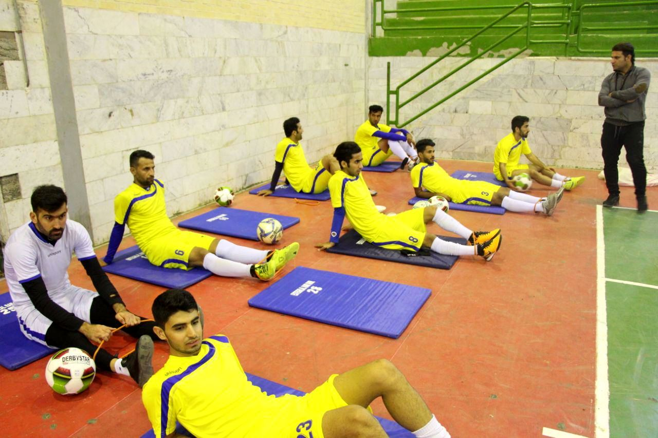 گزارش تصویری/ تمرینات تیم استقلال رامشیر زیر نظر عباس میرسالاری