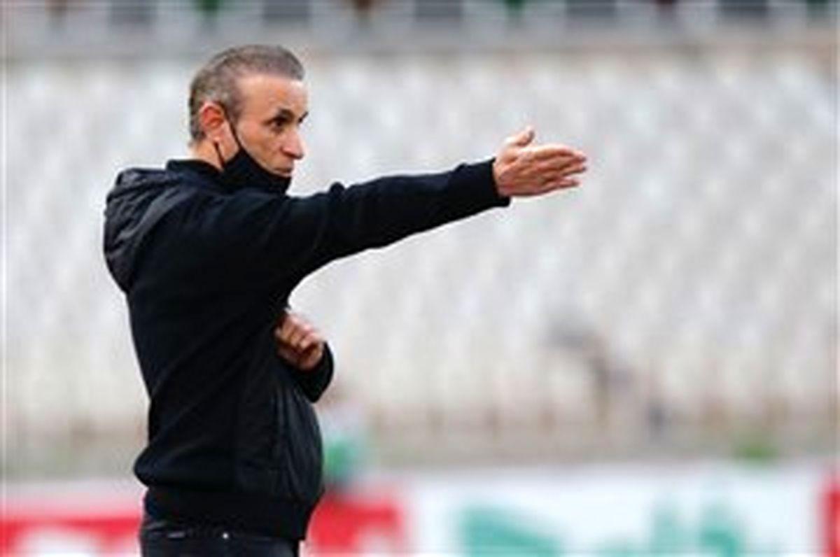 تیکه سنگین گل محمدی به بازیکنانش : باید بازیکنی در حد پرسپولیس بگیریم