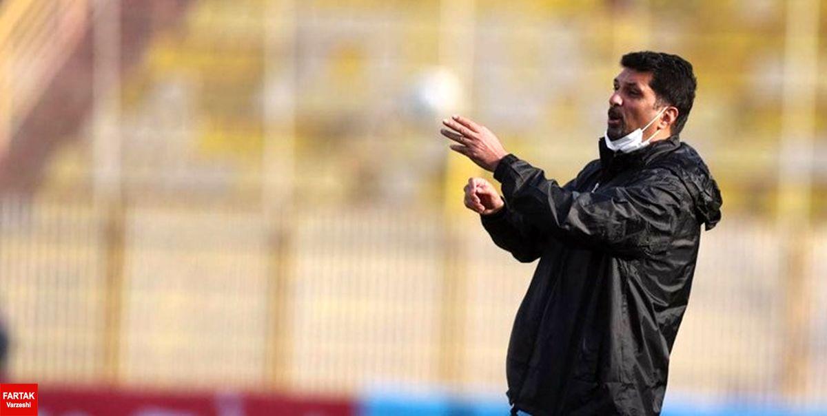 حسینی: میتوانستیم مقابل استقلال ببریم یا ببازیم/ روی کار تمرین شده گل خوردیم