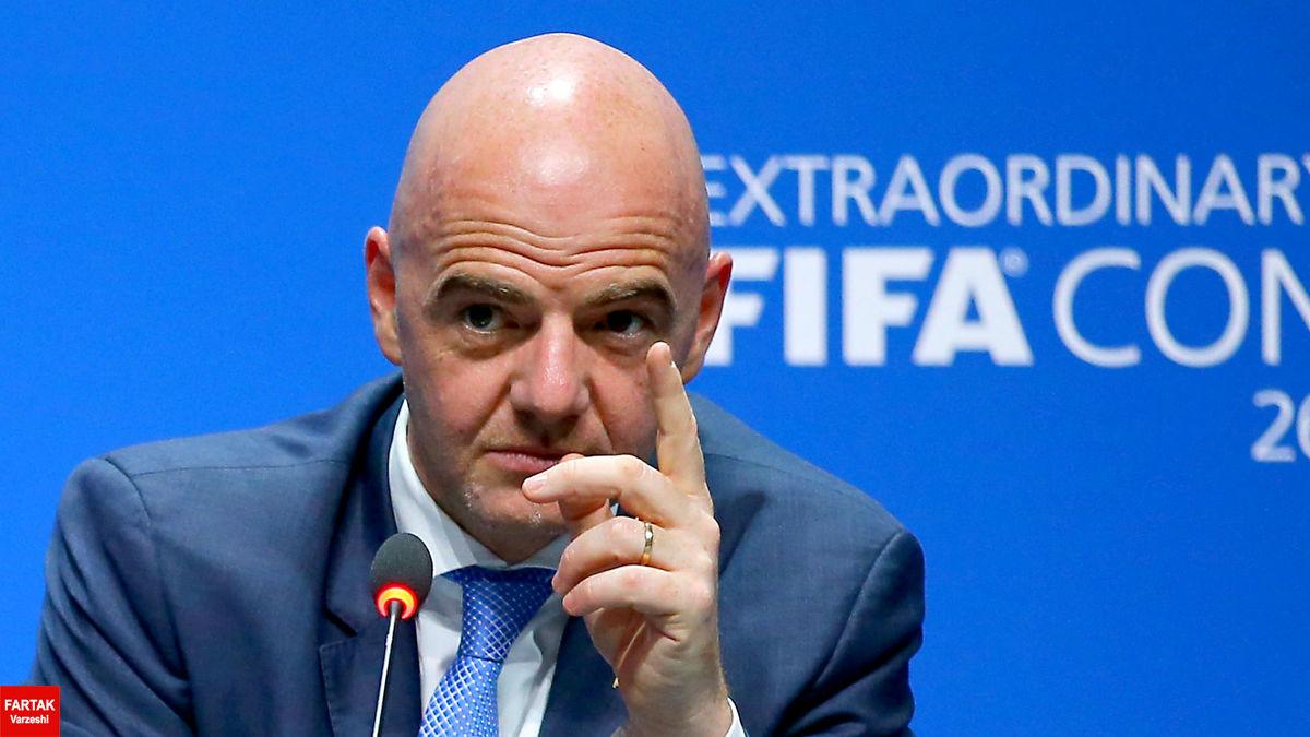 اینفانتینو: فیفا  به هیچ وجه سوپر لیگ را به رسمیت نمی شناسد