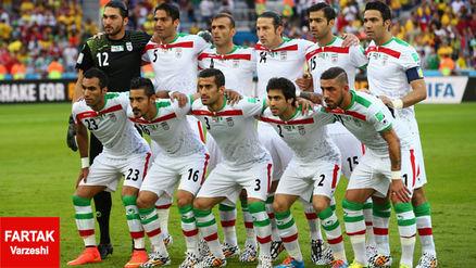 فهرست 23 بازیکن ایران برای بازی مقابل کره جنوبی