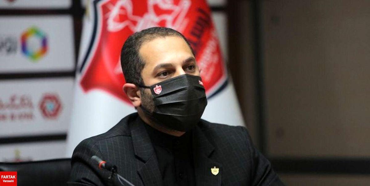 حسینپور خیال پرسپولیسیها را در خصوص پرونده سوشا مکانی راحت کرد