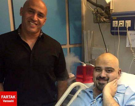 منصوریان به عیادت کارگردان فیلم  من«ناصر حجازی هستم» رفت