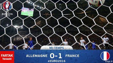 قفل دروازه ها شکست/ فرانسه با پیروزی به رختکن رفت