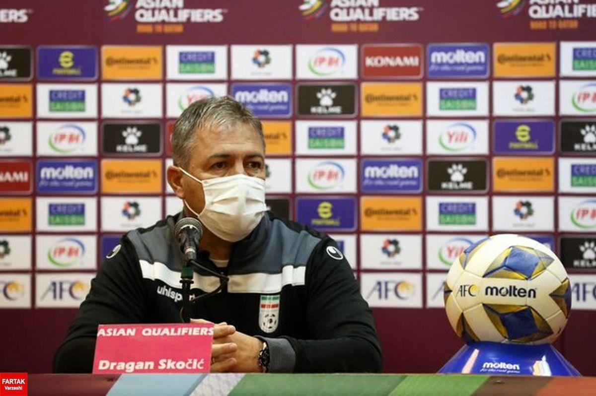 اسکوچیچ:انتقاد میکنند چون دوست دارند جای من سرمربی تیم ملی باشند