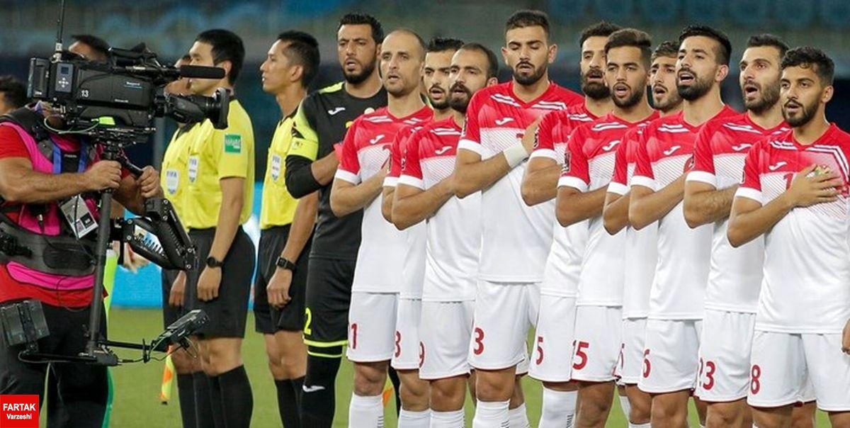 انتخابی جام جهانی  اردن به نفع ایران مقابل استرالیا شکست خورد و حذف شد