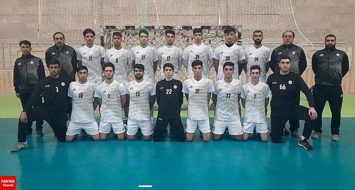 پایان مسابقات هندبال جوانان باشگاههای کشور