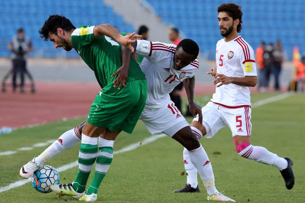 مقدماتی جام جهانی| تساوی امارات و عراق به نفع ایران