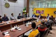 دیدار کادر فنی تیم های هندبال بزرگسالان و پایه سپاهان با مدیر عامل باشگاه