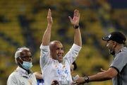 سرمربی الهلال: از صعود به فینال لیگ قهرمانان آسیا خیلی خوشحالم