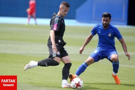 تماشاگر ایرانی بازیهای اروپایی دینامو؛ صادق محرمی!
