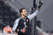حامد لک کاندیدای بهترین سیو لیگ قهرمانان آسیا