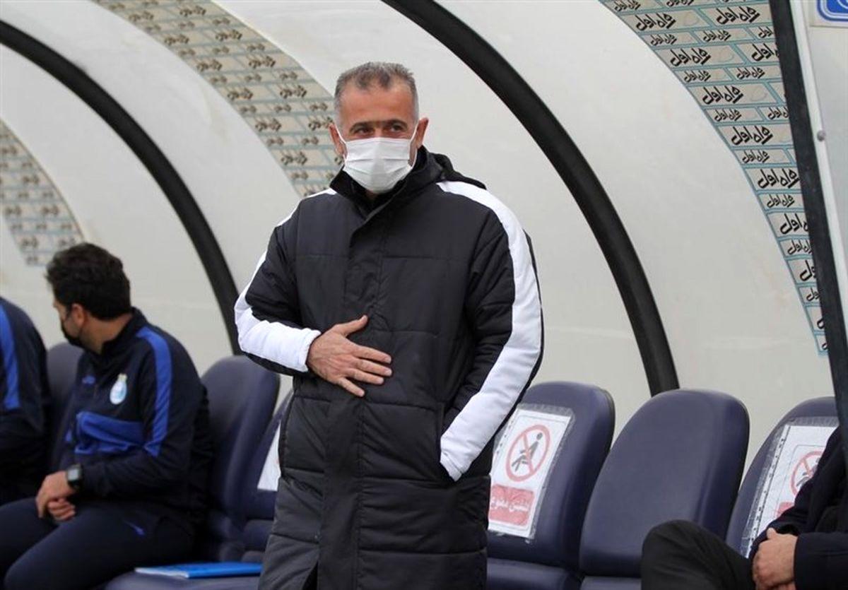 غیبت فراز کمالوند در کنفرانس خبری بعد از دیدار با تیم فوتبال ذوب آهن