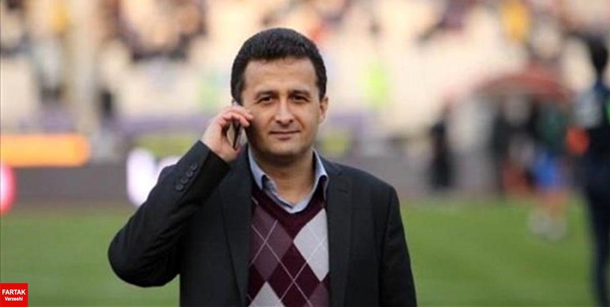 محمودزاده: زمان نقل و انتقالات نیم فصل بعد از پایان دور رفت است