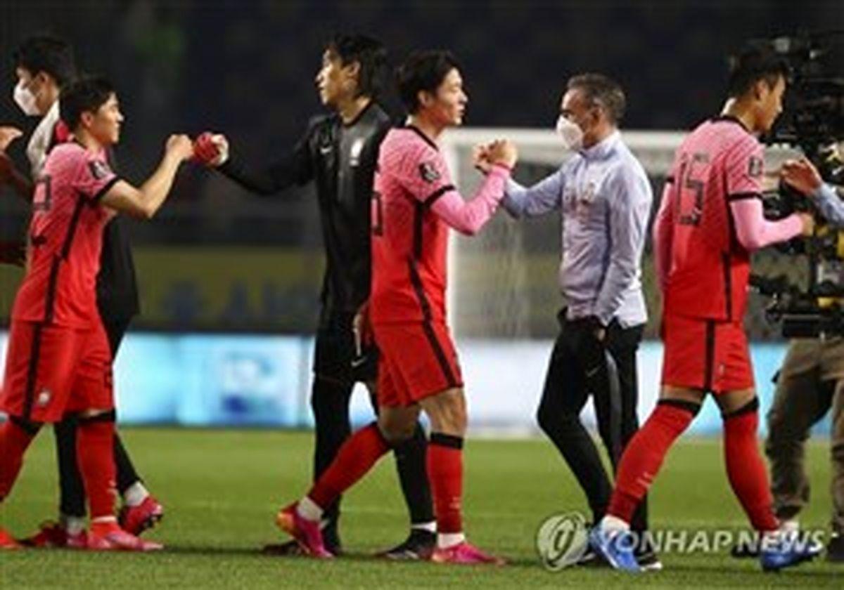 اعلام اسامی بازیکنان کره برای دیدار با ایران