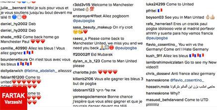 هجوم هواداران پوگیا به صفحه ی اینستاگرامش