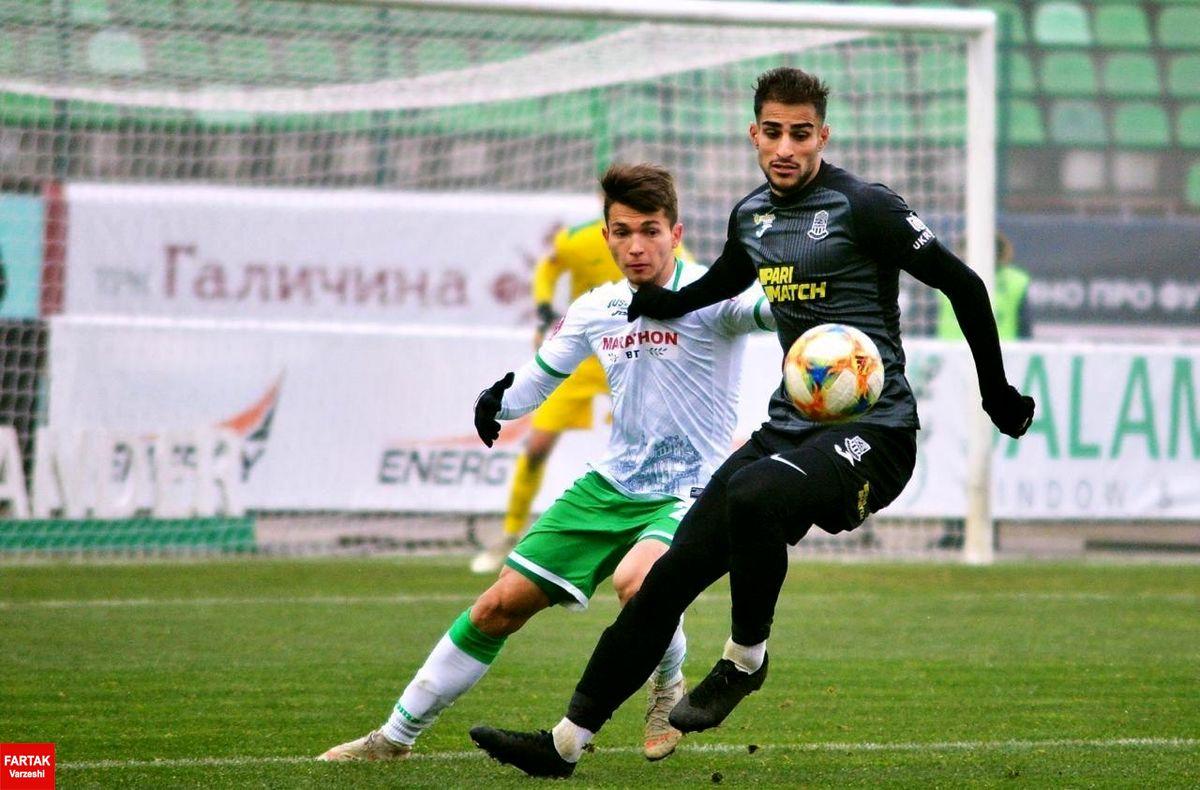 شهاب زاهدی، سومین بازیکن برتر فوتبال اوکراین