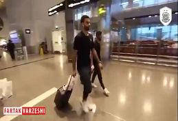 بازیکنان السد برای دیدار با پرسپولیس وارد تهران شدند+فیلم
