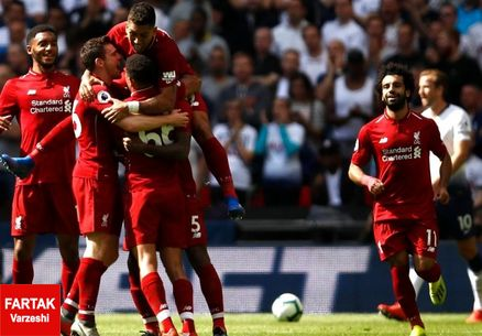 لیگ برتر انگلیس| لیورپول جایگاهش را در صدر جدول تثبیت کرد