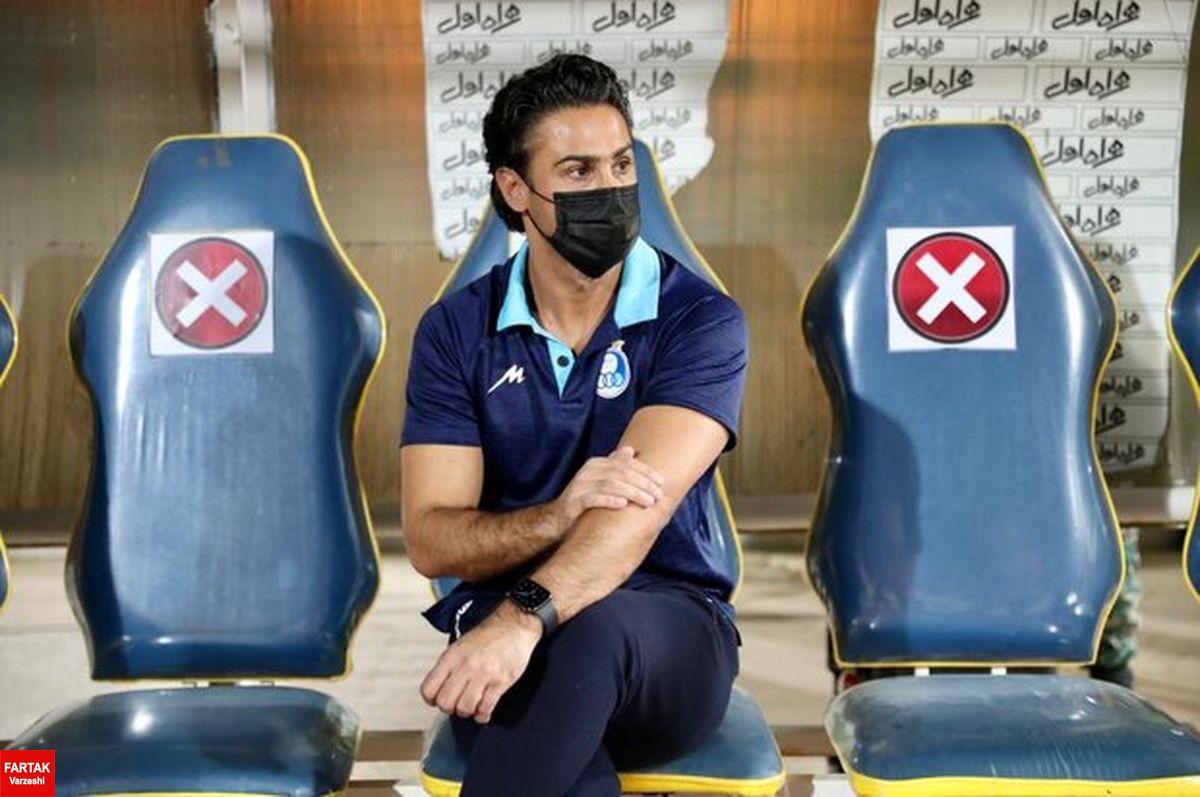 مجیدی در نشست خبری بعد از بازی با سایپا هم شرکت نکرد