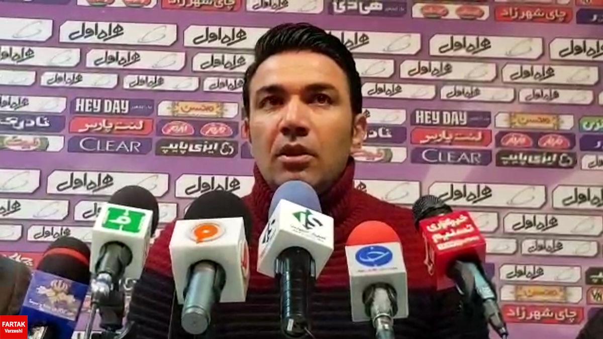 جواد نکونام: میتوانستیم با گلهای بیشتری به پیروزی دست یابیم