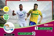 لیگ برتر فوتبال| پیروزی لحظه آخری صنعت نفت مقابل ماشینسازی