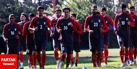 اعلام لیست ۲۳ نفره تیم ملی فوتبال امید