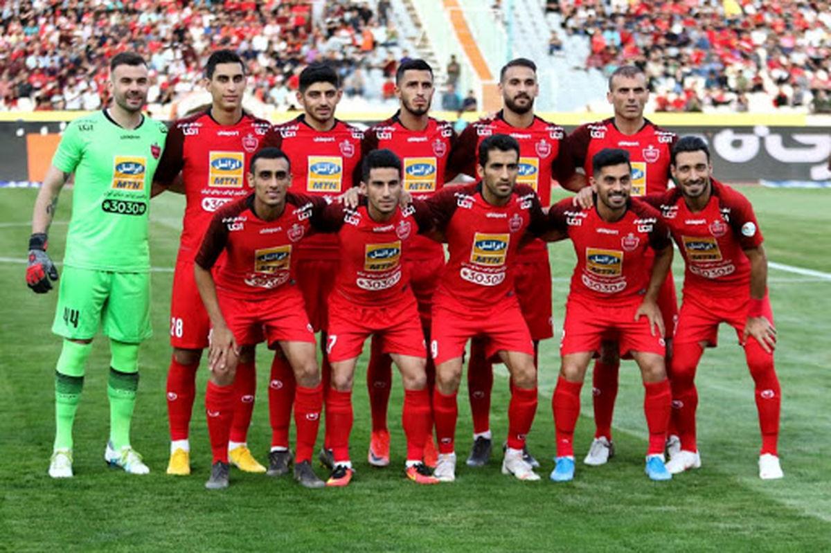از جام قهرمانی پرسپولیس در لیگ نوزدهم رونمایی شد + عکس