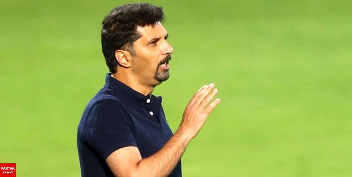 حسینی: دو گل شبیه به هم خوردیم/ میدانستیم باید مقابل پرسپولیس پرفشار بازی کنیم