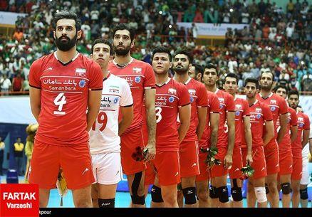 ترکیب تیم های والیبال در المپیک اعلام شد