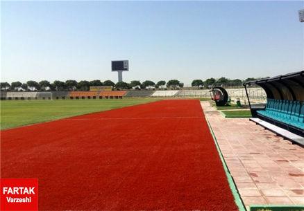 ورزشگاه شهر قدس برای میزبانی دیدار پیکان و استقلال آماده است+عکس