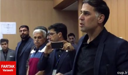 سعید آذری از هیات رئیسه سازمان لیگ استعفا کرد