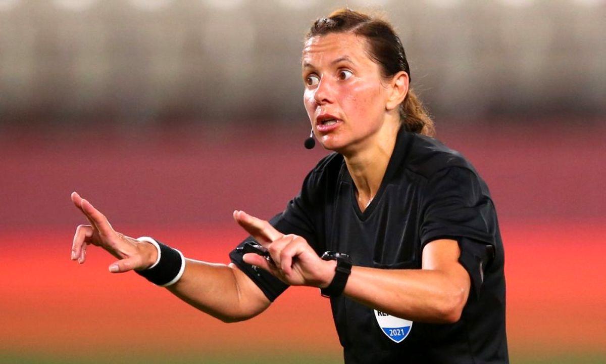 زنی که در بازی امشب انگلیس تاریخساز شد