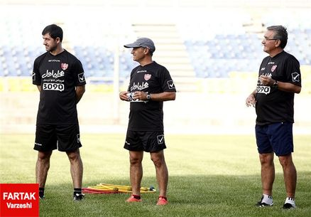 جلسه برانکو با بازیکنان پرسپولیس