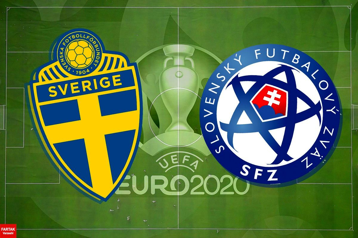 یورو ۲۰۲۰| اعلام ترکیب تیمهای سوئد و اسلواکی