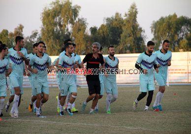 گزارش تصویری از آخرین تمرین بادران در کیش/ اوج هیجان و انگیزه در بین بازیکنان