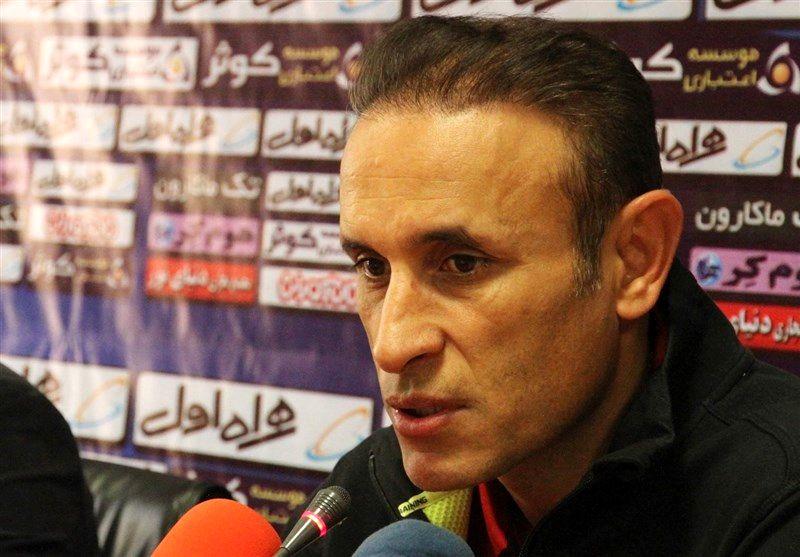 گلمحمدی در اردوی پدیده شهر خودرو حاضر شد