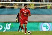 مظفری: مدافع بحرین باید اخراج میشد