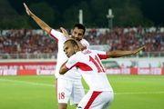 اردن برابر فلسطین متوقف شد/ صعود اردنیها به عنوان تیم اول