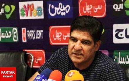 سرمربی پدیده: به دنبال پیروزی مقابل نفت تهران هستیم