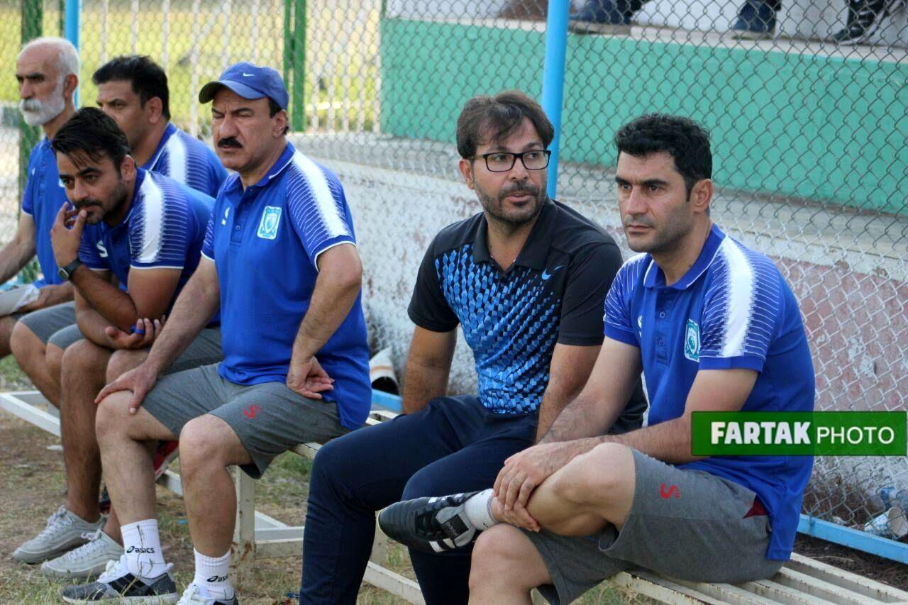 گزارش تصویری : دیدار تدارکاتی خیبر خرم آباد - ملوان بندرانزلی