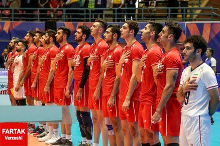 همگروهی والیبال ایران با لهستان و برزیل در دور نهایی لیگ ملتها