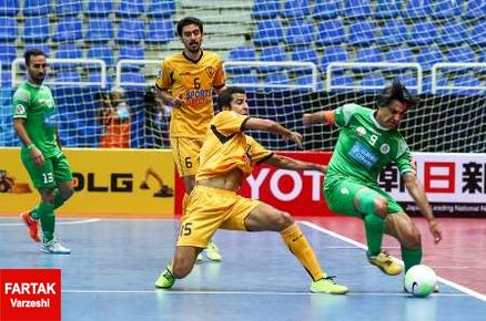 صعود نماینده ایران به یک چهارم نهایی در رقابت های فوتسال جام باشگاه های آسیا