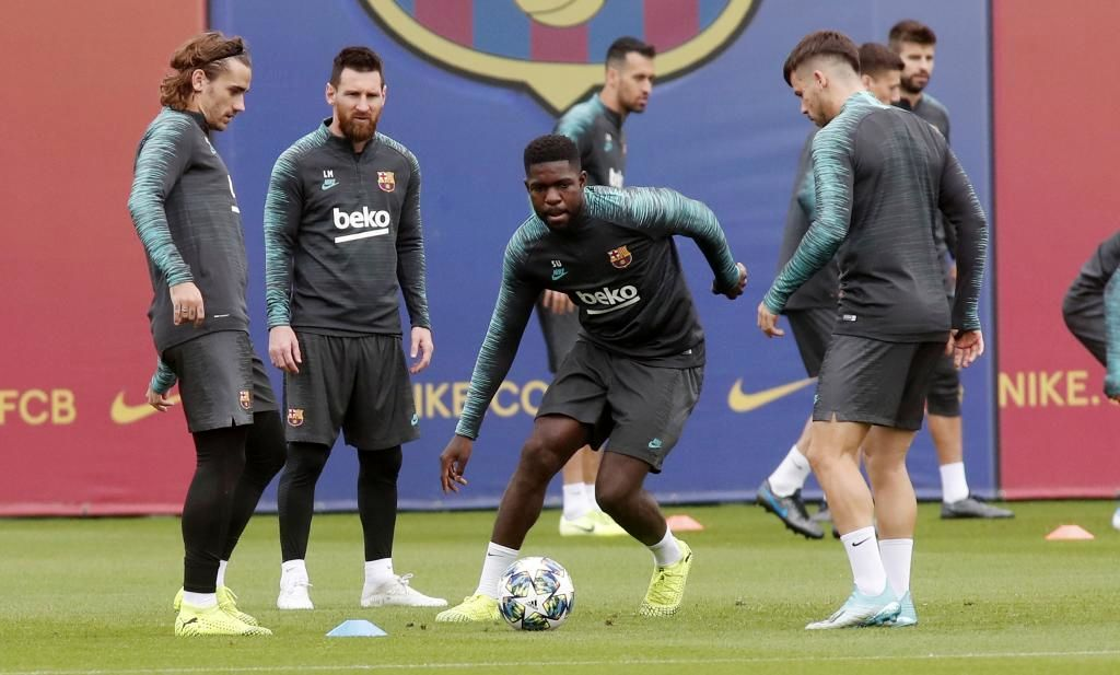 اومتیتی: گریزمان خودش را در بارسلونا ثابت می کند