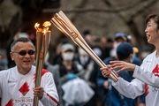 حمل مشعل المپیک در اوزاکا لغو شد