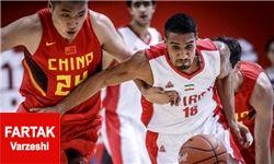 ملیپوشان بسکتبال ایران 70-59 دانشگاه ساکرامنتوی آمریکا را بردند