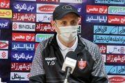 غیبت گلمحمدی در نشست خبری قبل از بازی با شاهین بندر عامری